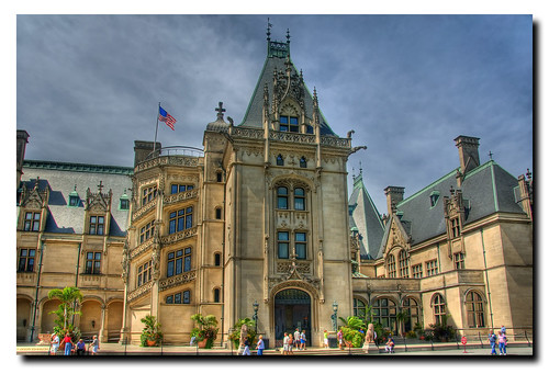 Biltmore Estate House HDR