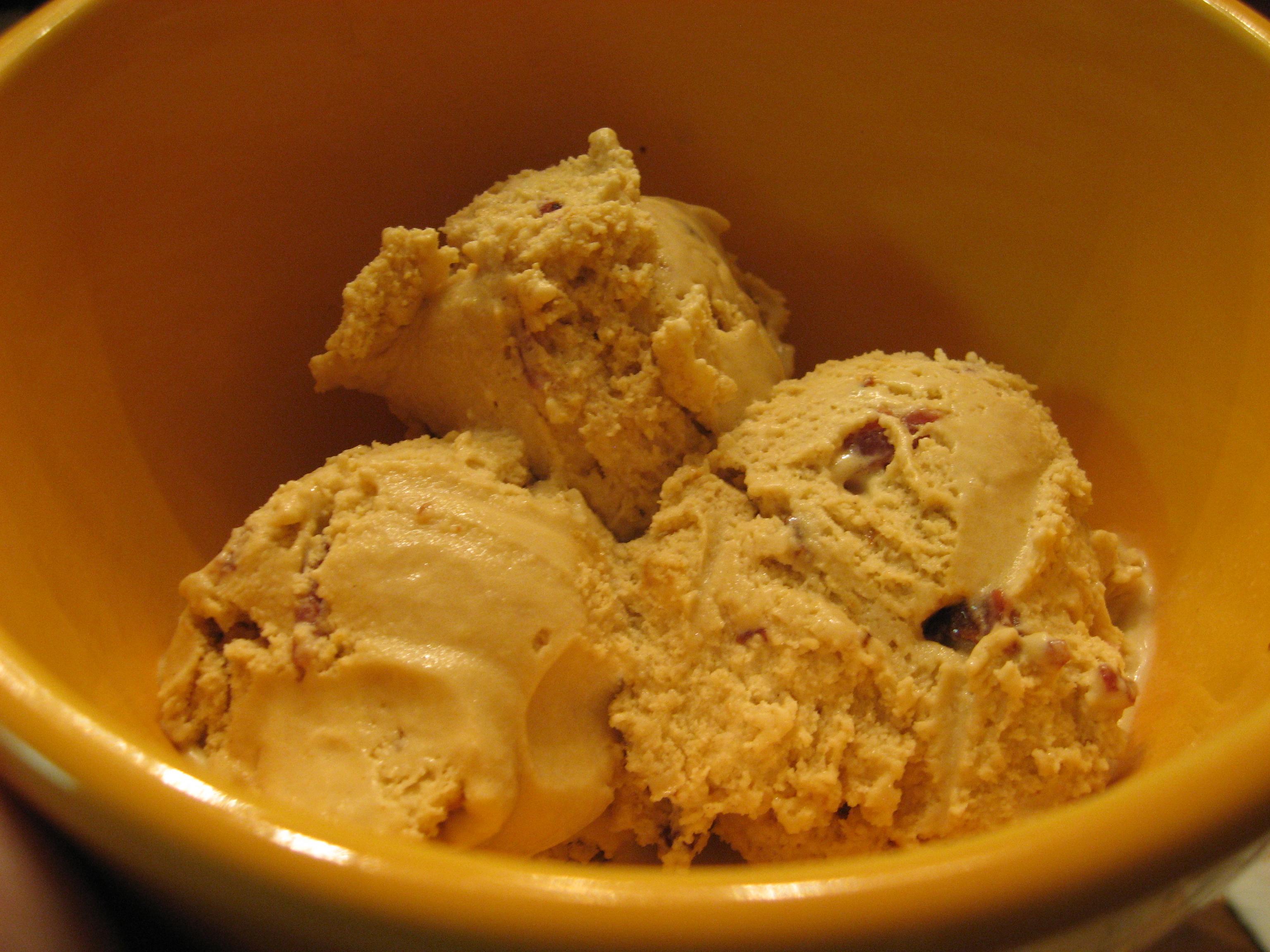 Candied Bacon Ice Cream | Explore kimberlykv's photos on Fli ...