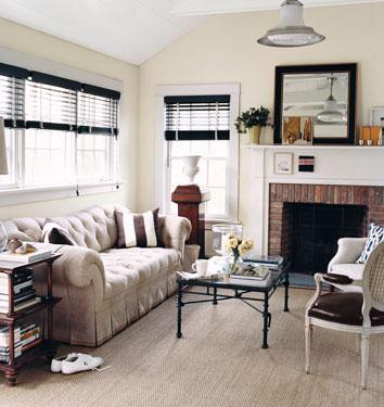 Benjamin Moore Edgecomb Gray Room Lust