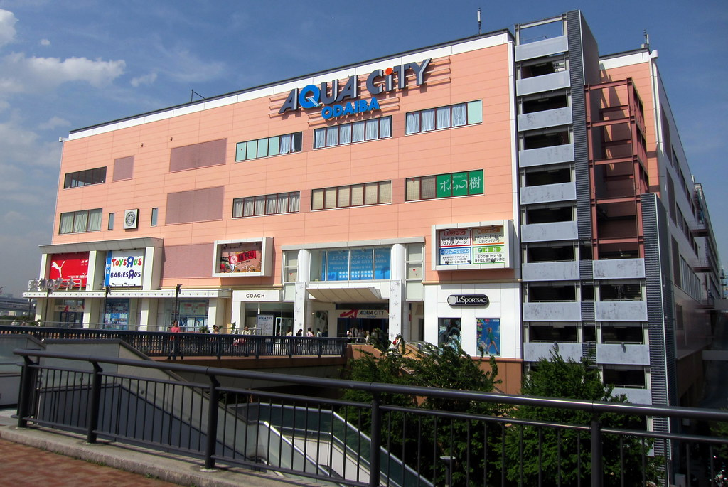 Tokyo - Odaiba: Aqua City
