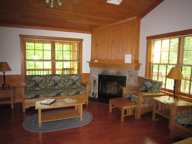 Bear Creek Lake State Park Cabin 8 - this is a 2 bedroom cabin sleeps 6