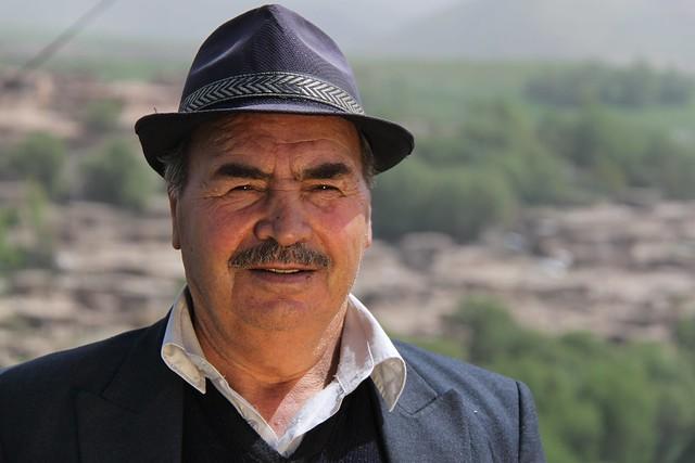 Iranian man.