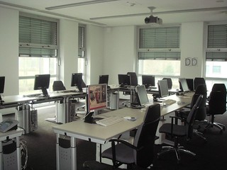 School computer laboratory