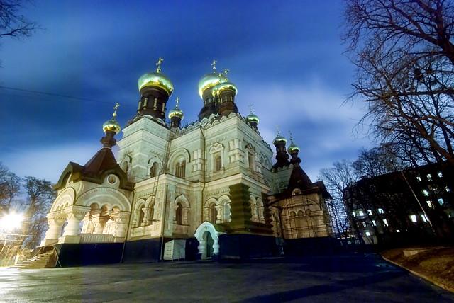 Ukraine, Night Kiev.