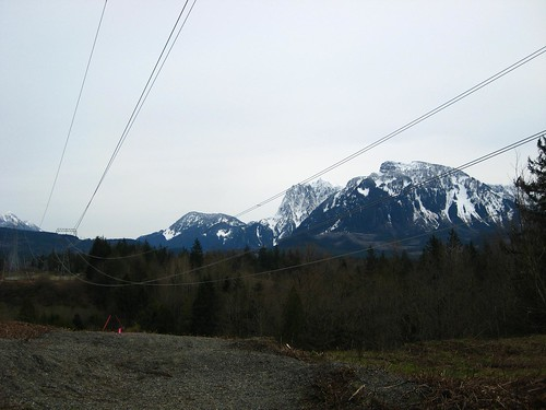 snowy mountains, snow, mountains, powerline… IMG_1133