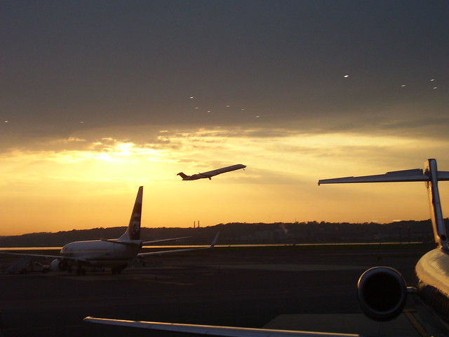 Early Morning at National (Reagan) Airport - Washington DC
