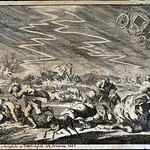 1680s Lightning storm in Thuringia, 19 July 1674