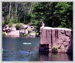 Red Granite Rock Quarry