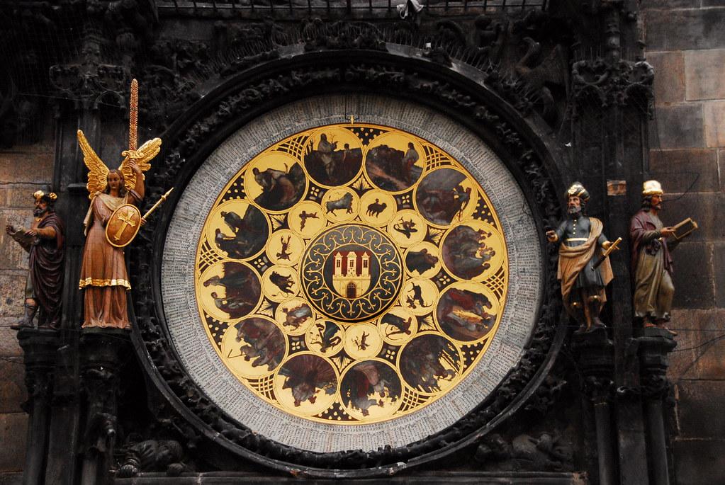 astronomical clock - figurines