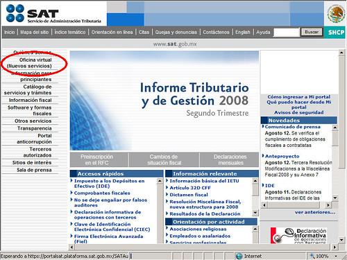 La declaracion informativa de razones por las cuales no se for Oficina virtual de tramits