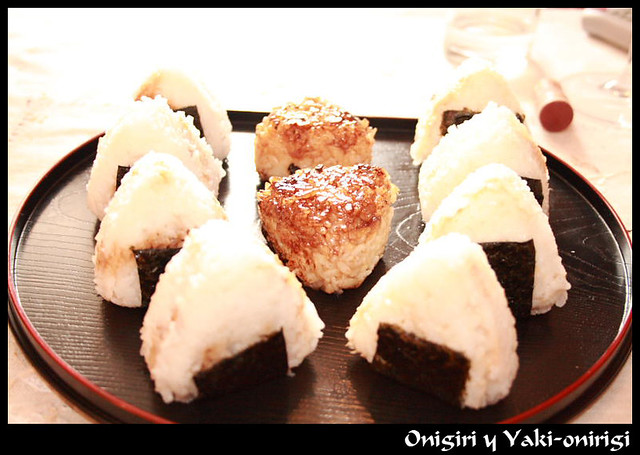Onigiri y Yaki-onigiri