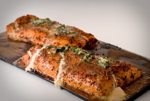 Roasted Salmon With Potlatch Seasoning and Lemon Shallot Herb Butter ...