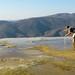 Hierve El Agua, near Oaxaca, South Mexico by Marie-Marthe Gagnon