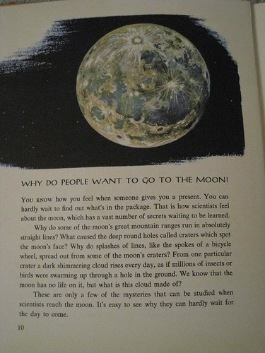 Why do people want to go to the moon?