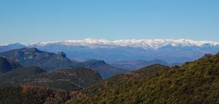 Els Pirineus des de Rocacorba