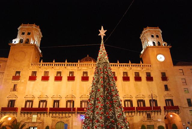 El Ayuntamiento de Alicante en Navidad