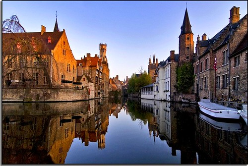 A Morning of Reflection In Bruges