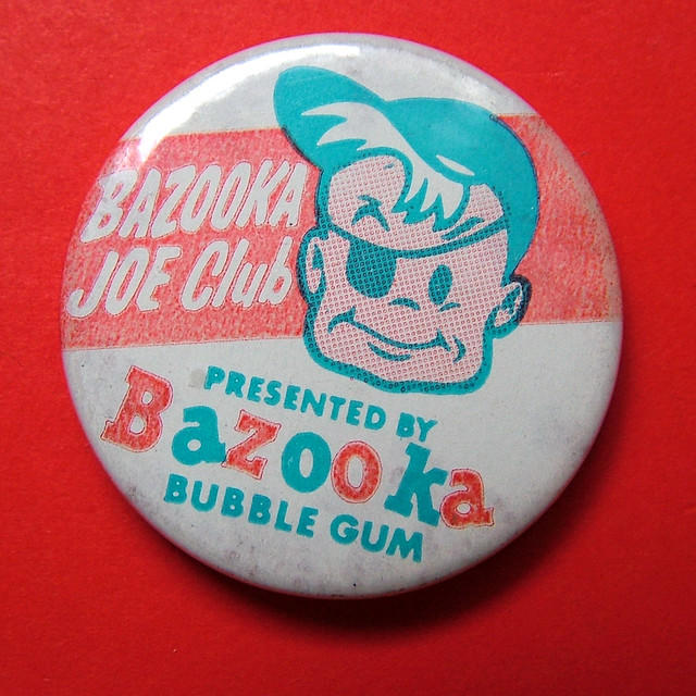 Bazooka Joe Club badge