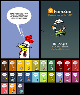 FamZoo Business Cards