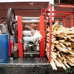 Sugar Cane Juice on Streets of Old Dhaka - Bangladesh