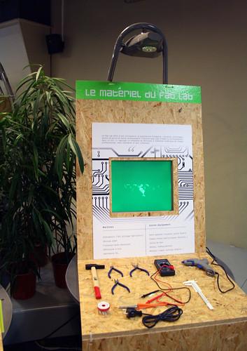 FaBLab Squared à la Cité des Sciences