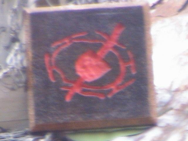 contest symbol, Indiana Jones™ and the Summer of Hidden Mysteries, Adventureland Bazaar, Adventureland, Disneyland®, Anaheim, California, 2008.05.26 15:41