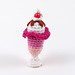 Amigurumi Ice Cream Sundae/Parfait Pendant by enna design