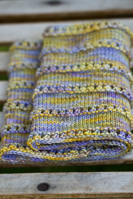 Stacked Eyelet Cowl Flickr - Photo Sharing!