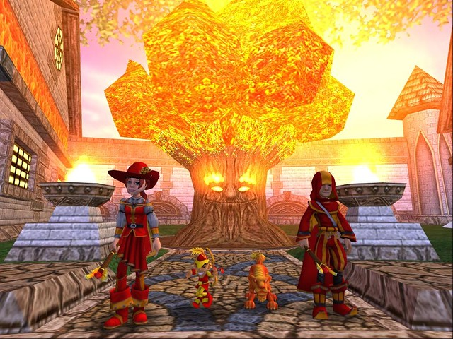 Wizard 101 School Of Fire Bernie Wwwgamerhotlinecomwiza Flickr