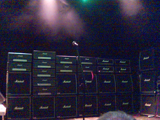 Photo:Lots of Marshall amps By jonsson