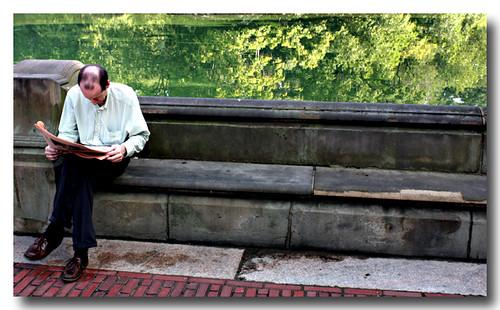 Man on Bench 2008