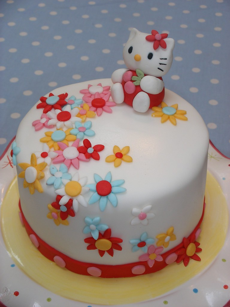 Images Of A Hello Kitty Cake : Hello Kitty Cake - a photo on Flickriver