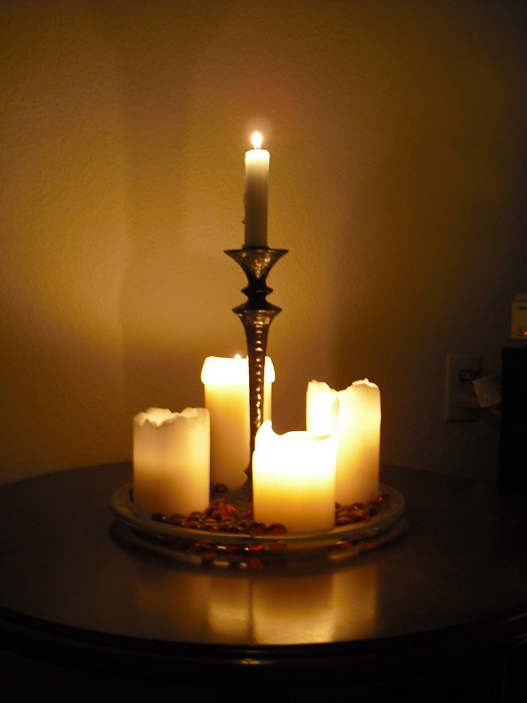 Christmas candles | Our four Advent candles and our ...
