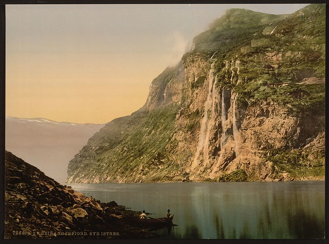 [The Seven Sisters, Geiranger Fjord, Norway] (LOC)