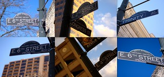 Street Sign Collage
