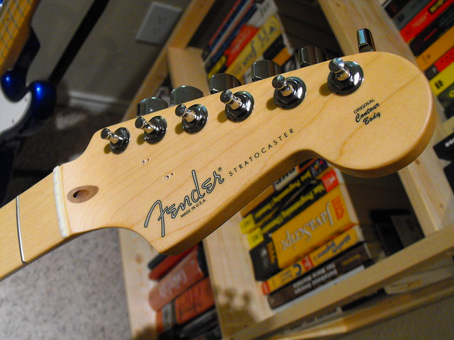 Photo:Fender Stratocaster Headstock By Tim Patterson