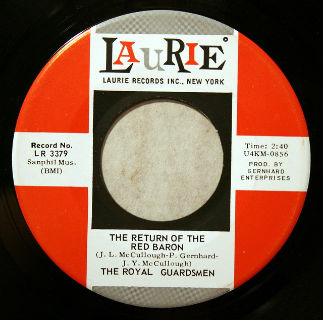 """""""The Return of the Red Baron"""" by The Royal Guardsmen, Laurie Records"""
