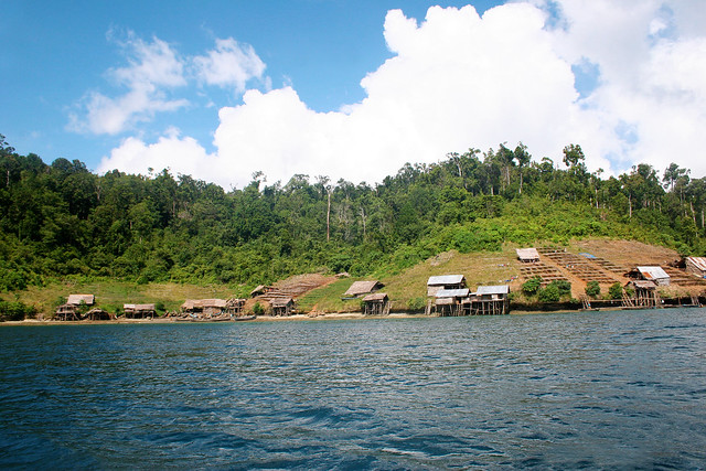 Living conditions in Raja Ampat, West Papua.