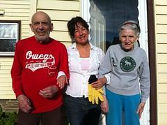 Grandma & Grandpa Ulacco with Sandra