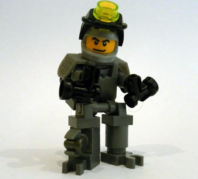Lego Mech Scout Suit V2