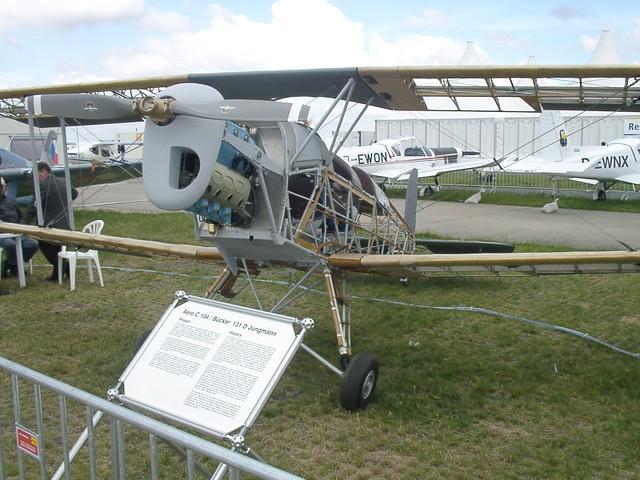 Aero C 104 / Bücker 131D Jungmann