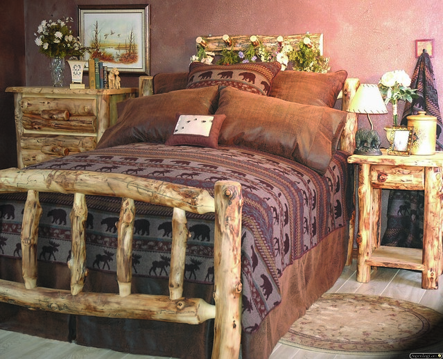 Wonderful Rustic Home Decor and Rustic Bedding from Aspenlog.com 500 x 405 · 188 kB · jpeg