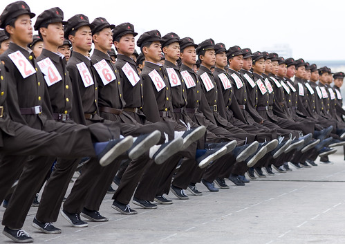 North Korean army 북한 Pyongyang