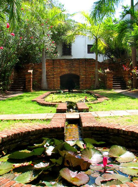 Jardines de casa blanca old san juan puerto rico for Casa del jardin