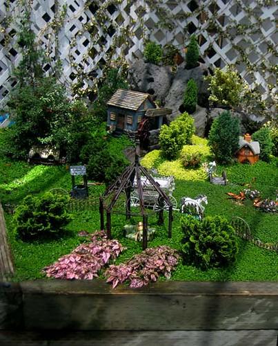 fairy garden village flickr photo sharing