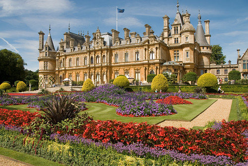 Waddesdon Manor House and Gardens