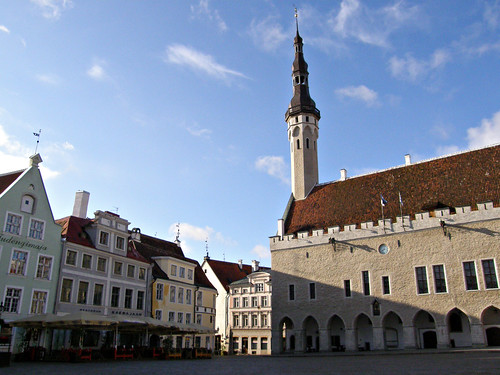 Tallinn Old Town - Main Square