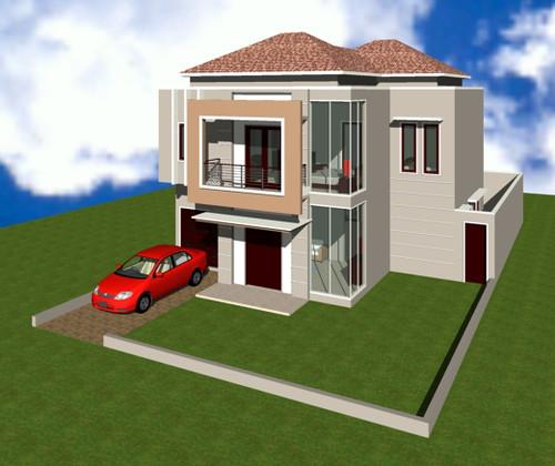 Design sweet home desain rumah minimalis 2 lantai for House minimalis