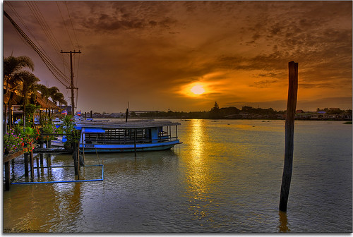 morning sun sunrise river thailand dawn early alba bangkok amanecer rise chao hdr phraya aube dammerung holidaysvacanzeurlaub grantthai grantcameron