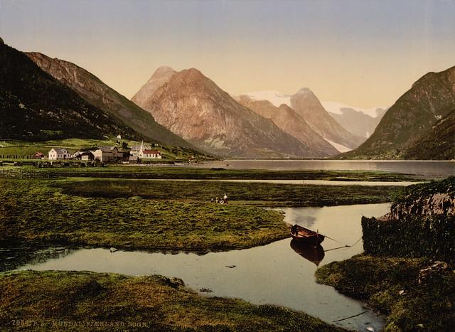 Mundal, Fjaerland, Sognefjord, Norway, ca. 1897